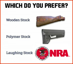 Wood stock, poly stock, laughing stock NRA.png