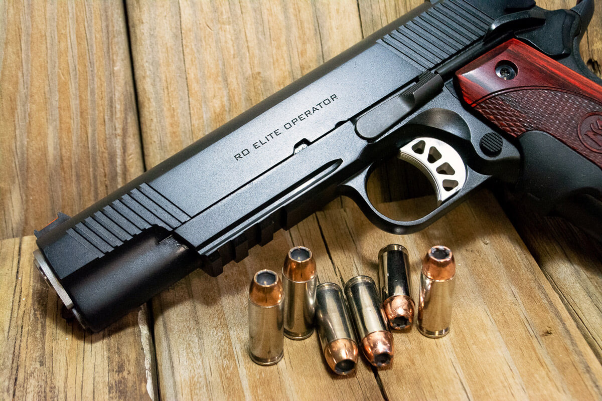 Springfield Armory Range Officer Elite with 10mm ammunition