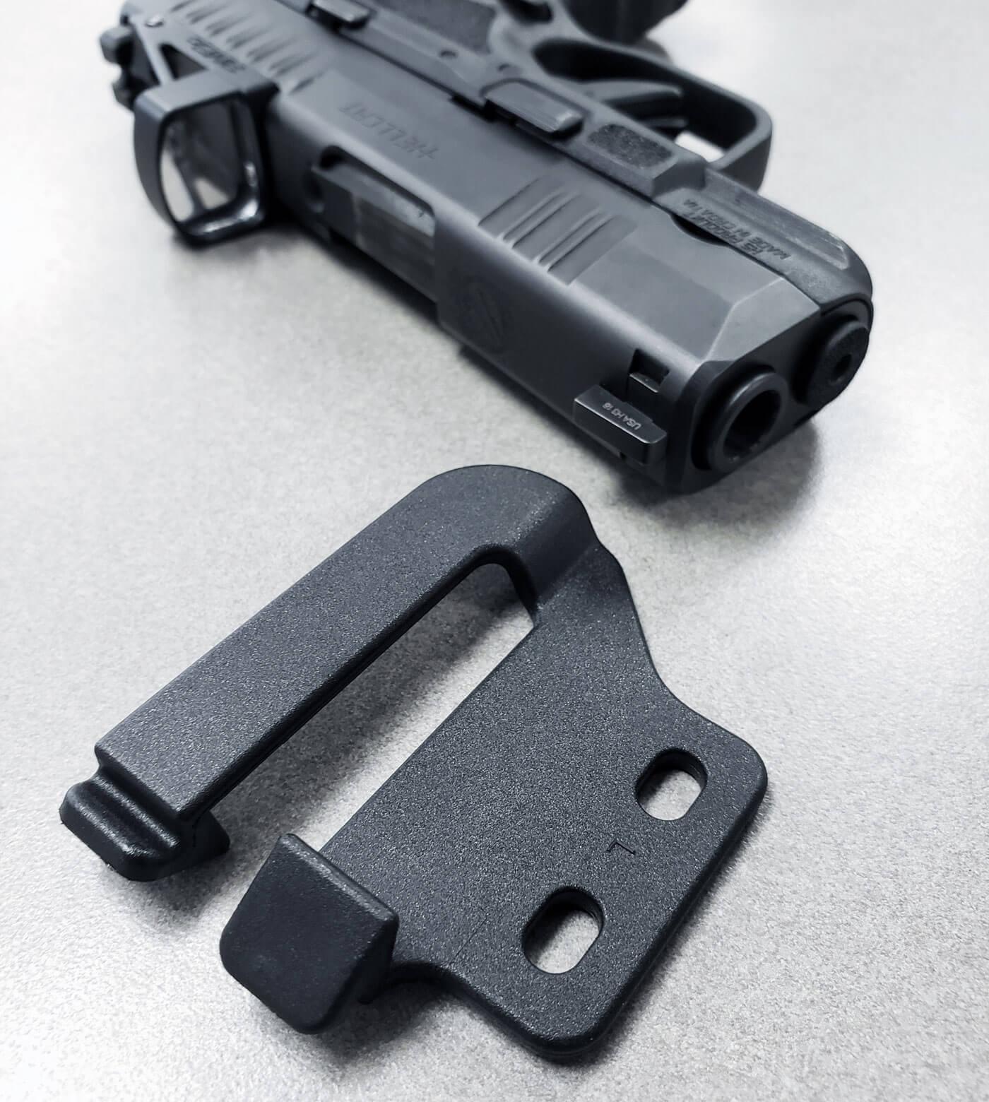 Belt clip for CrossBreed Reckoning holster