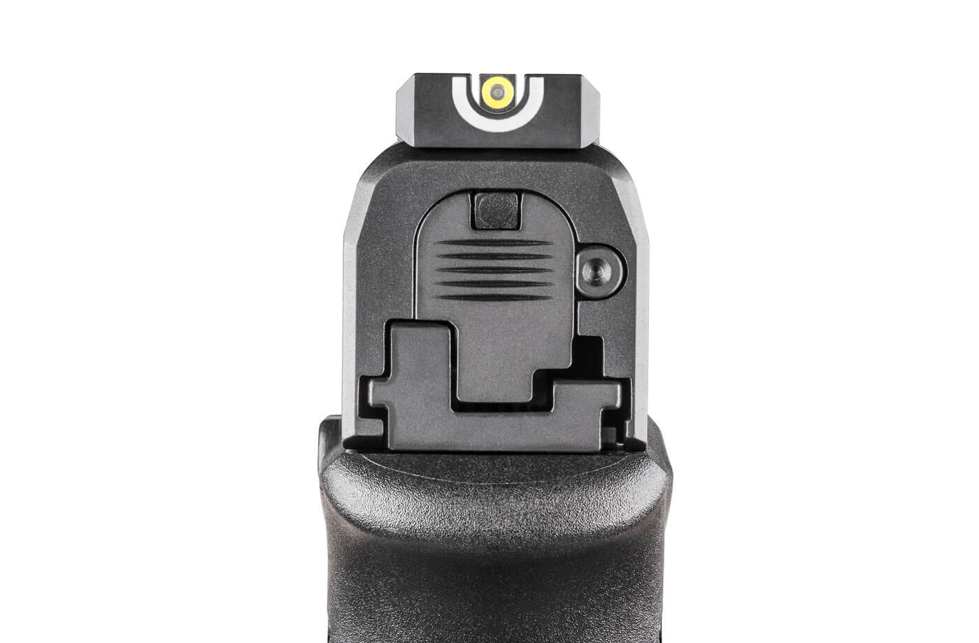 Front sight visible through the u-notch rear sight
