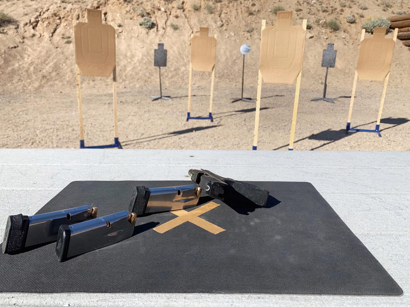 Pistol match layout