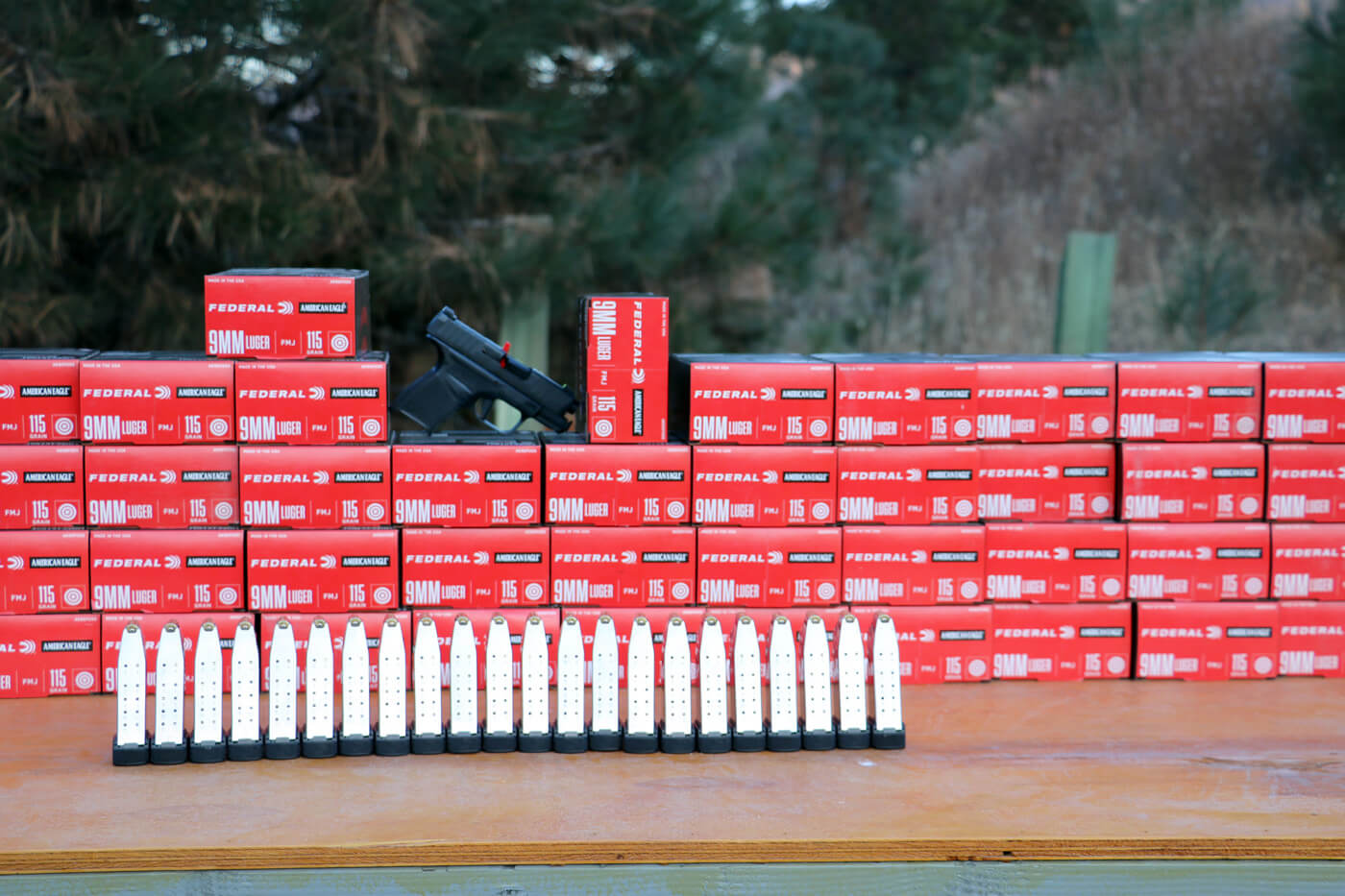 10,000 rounds of American Eagle ammunition