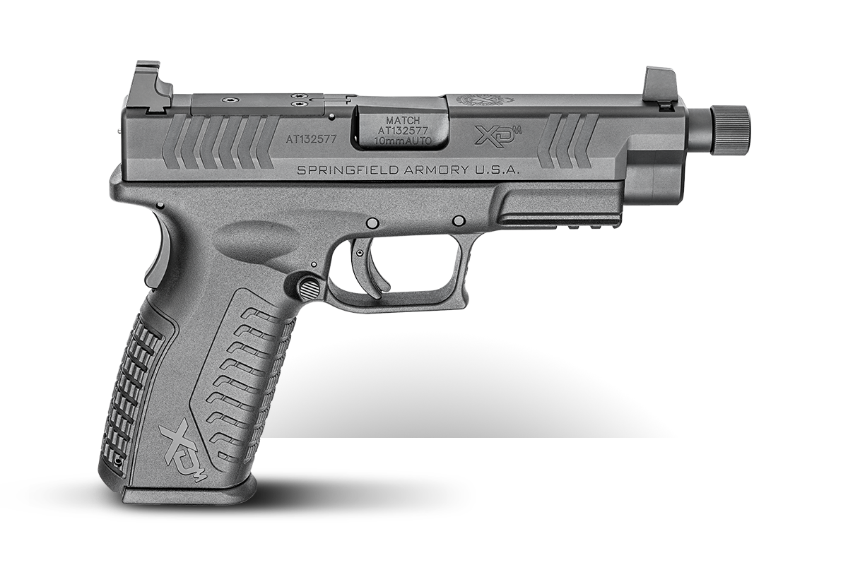 "XD-M® 4.5"" OSP w/ Threaded Barrel"
