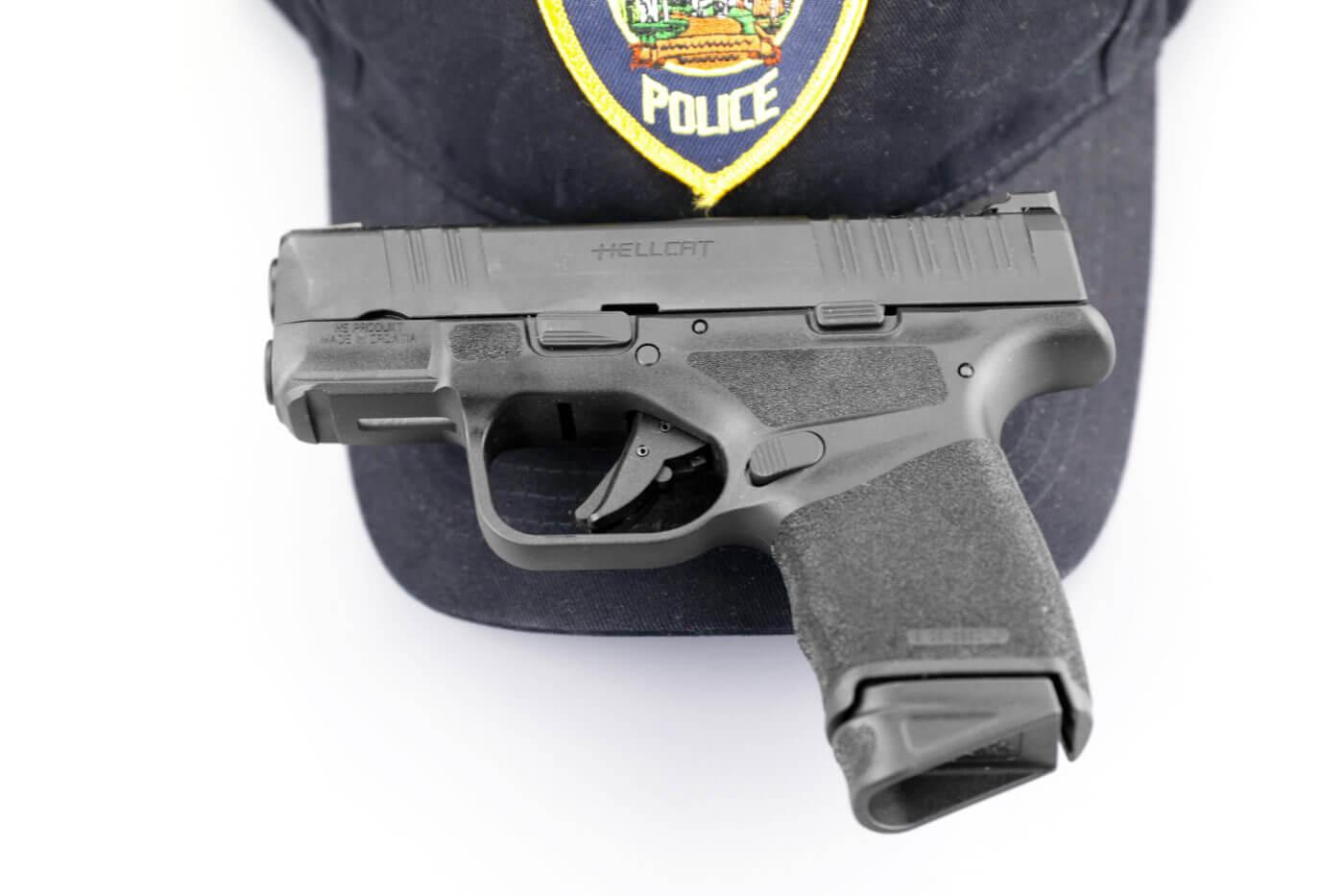 A police officer's backup gun