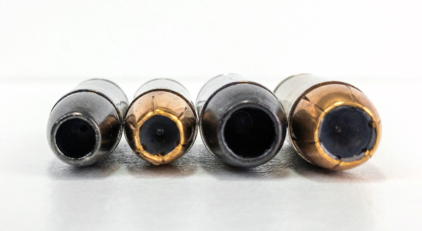 Comparing bullet diameter sizes between 9mm and .40 caliber