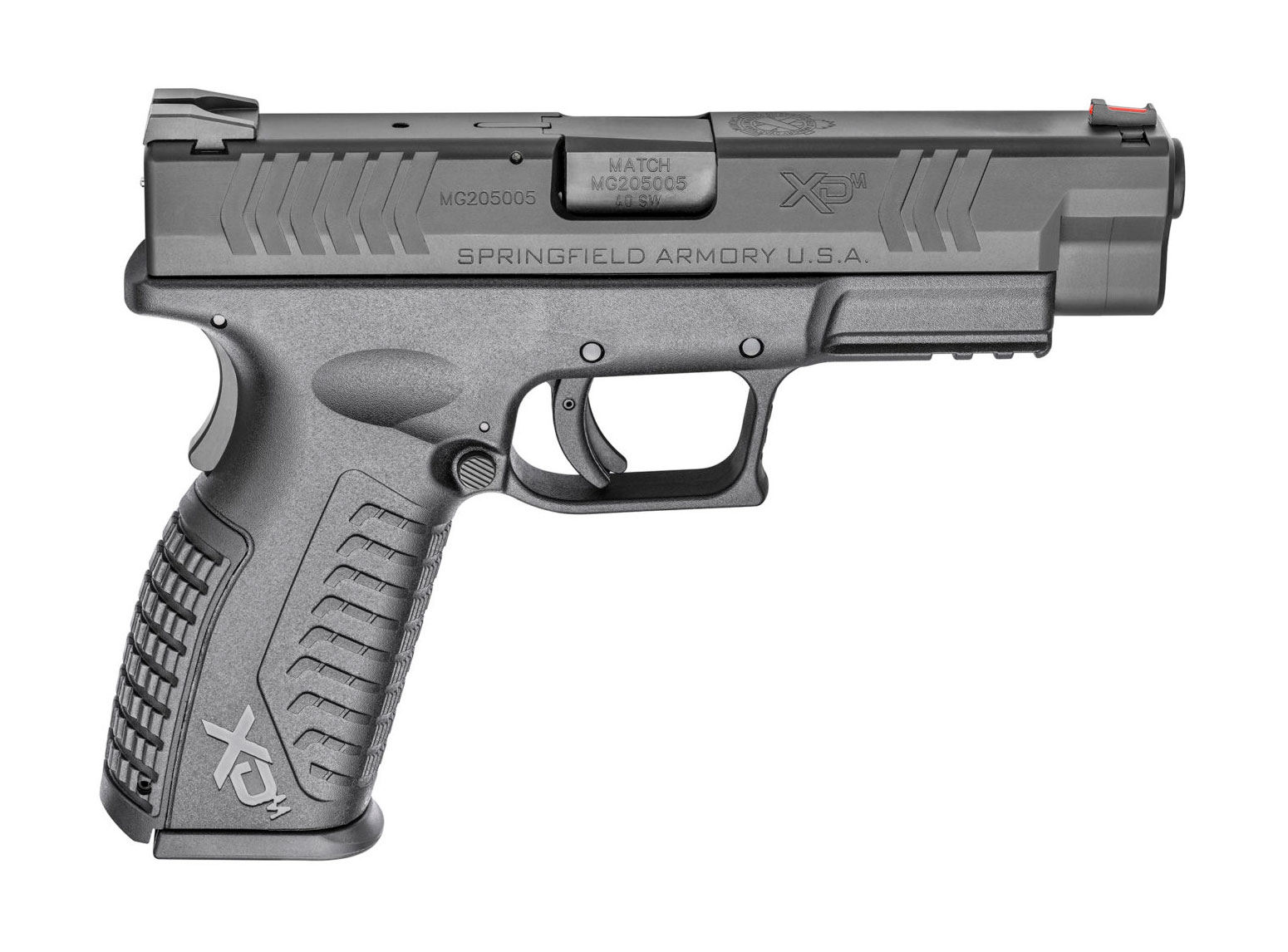 Springfield Armory XD-M pistol, side view