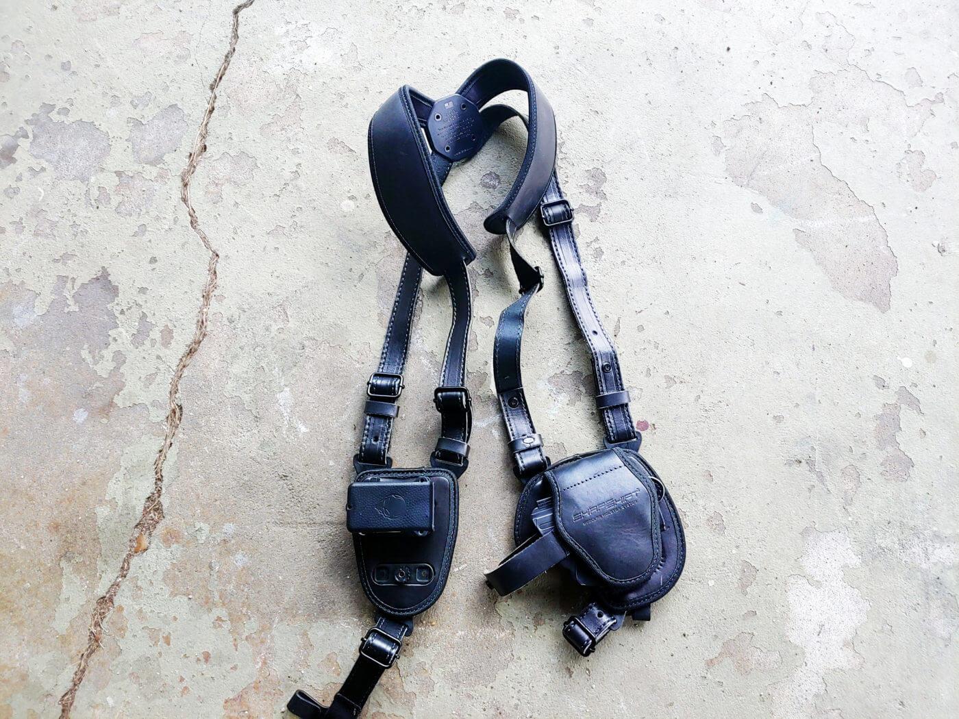 Alien Gear Cloak shoulder holster for the Hellcat CCW handgun