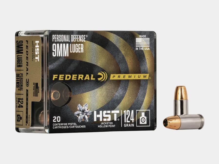 Federal HST 9mm