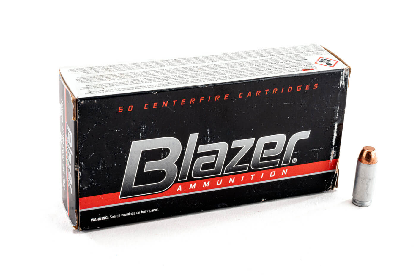 10mm Blazer FMJ ammo for target practice