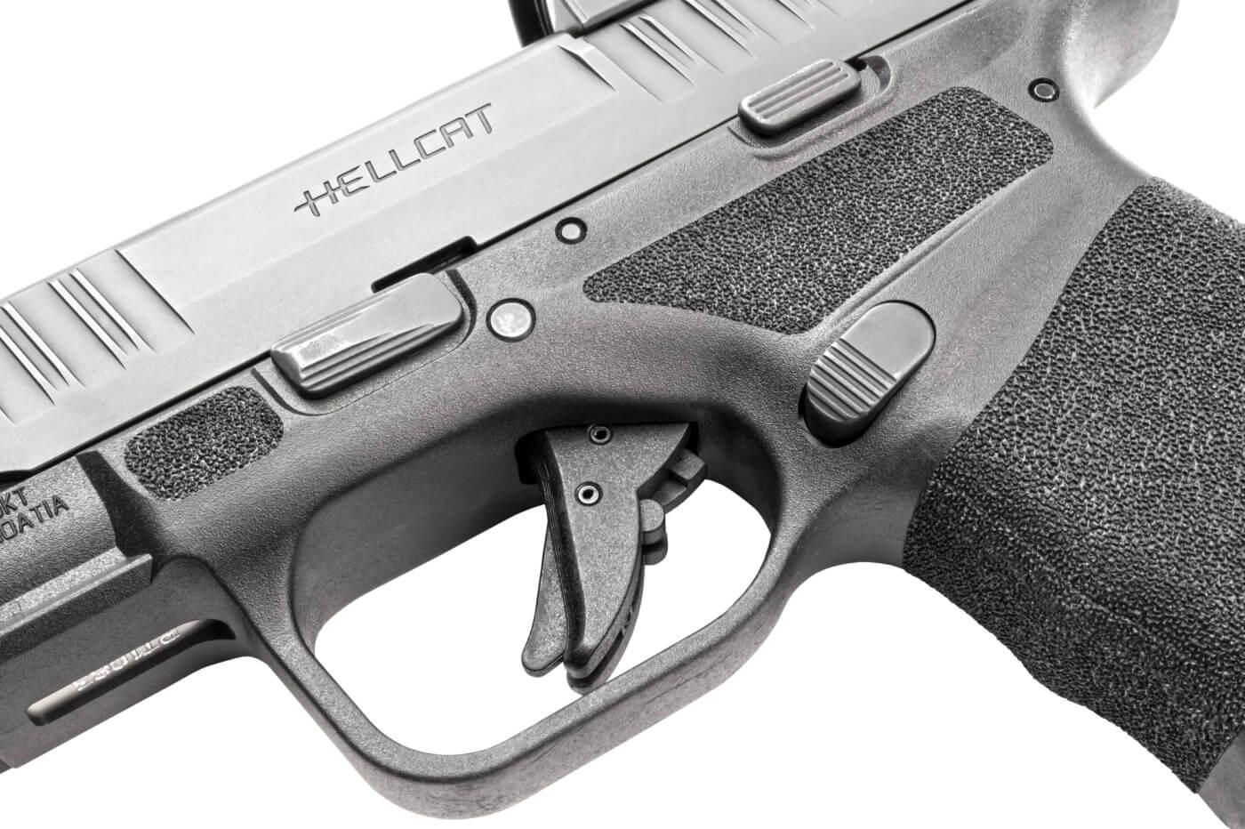 Trigger assembly of the Hellcat pistol