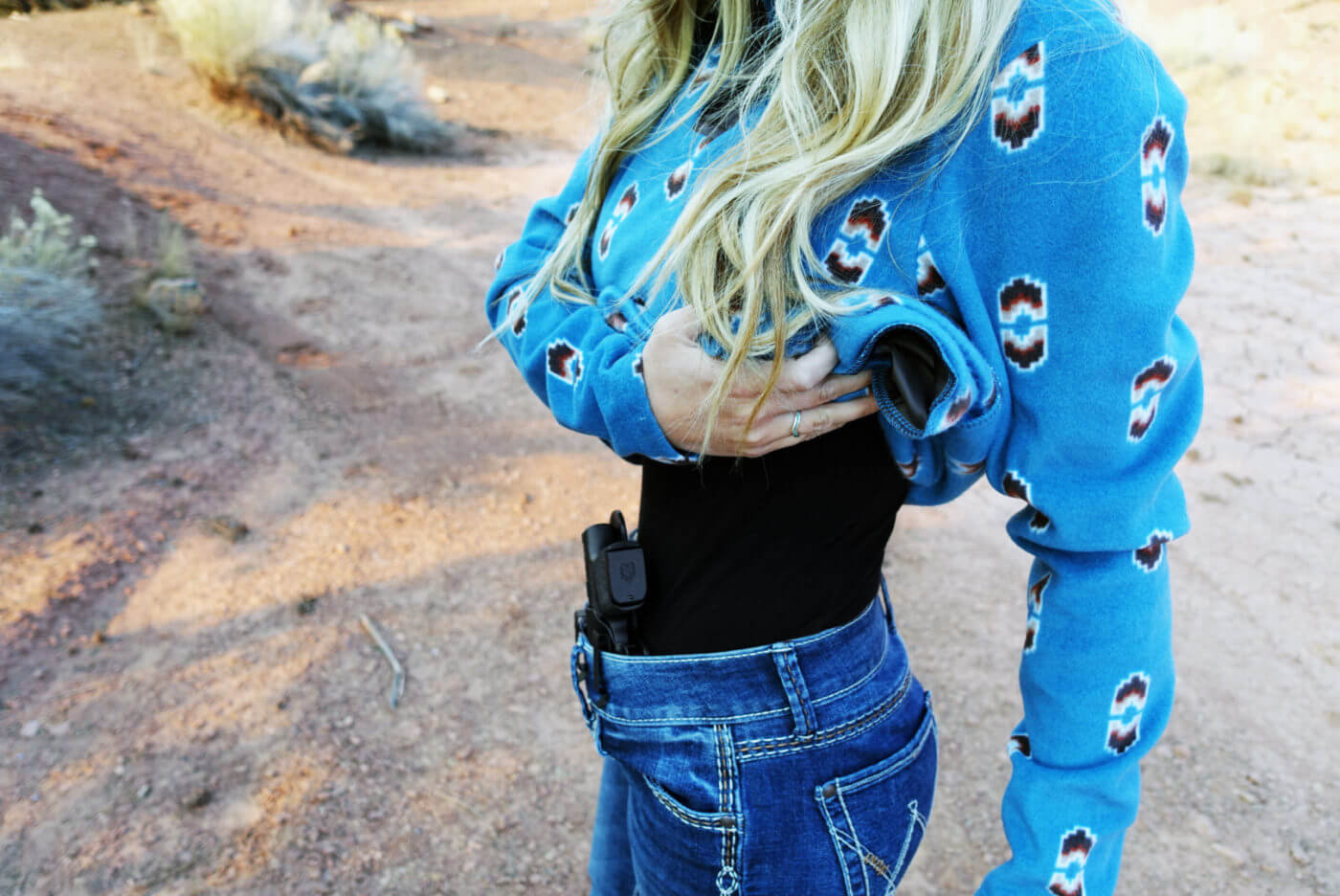 The Crossbreed Reckoning is a perfect method for women to appendix carry a Hellcat