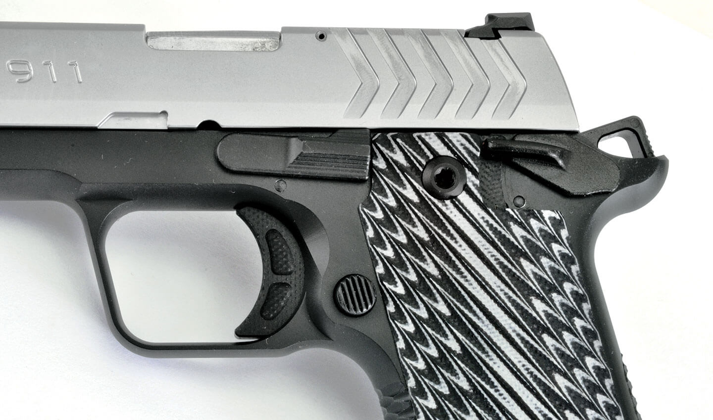 Springfield 911 with ambidextrous safety