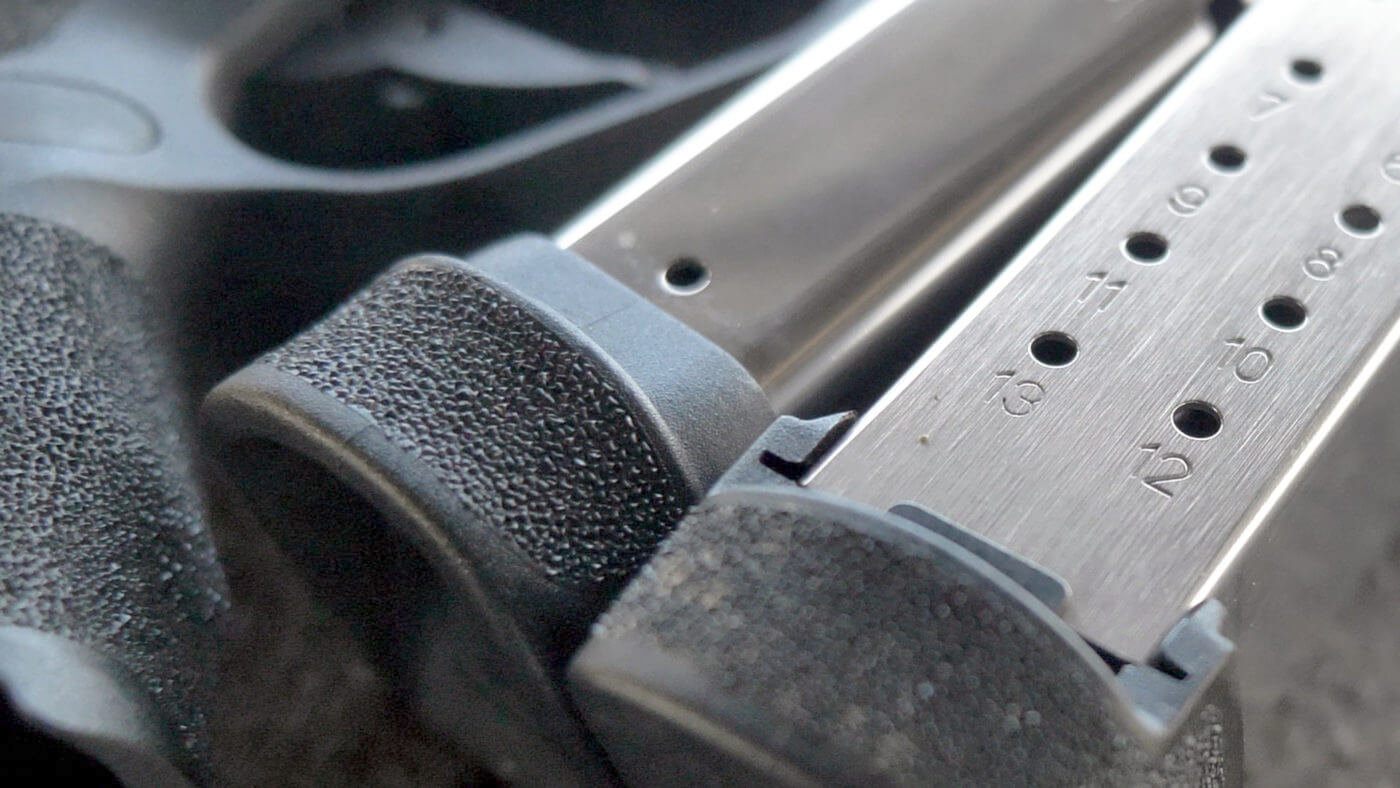 Springfield Armory Hellcat magazines are perfectly sized for the Bill Drill alternative