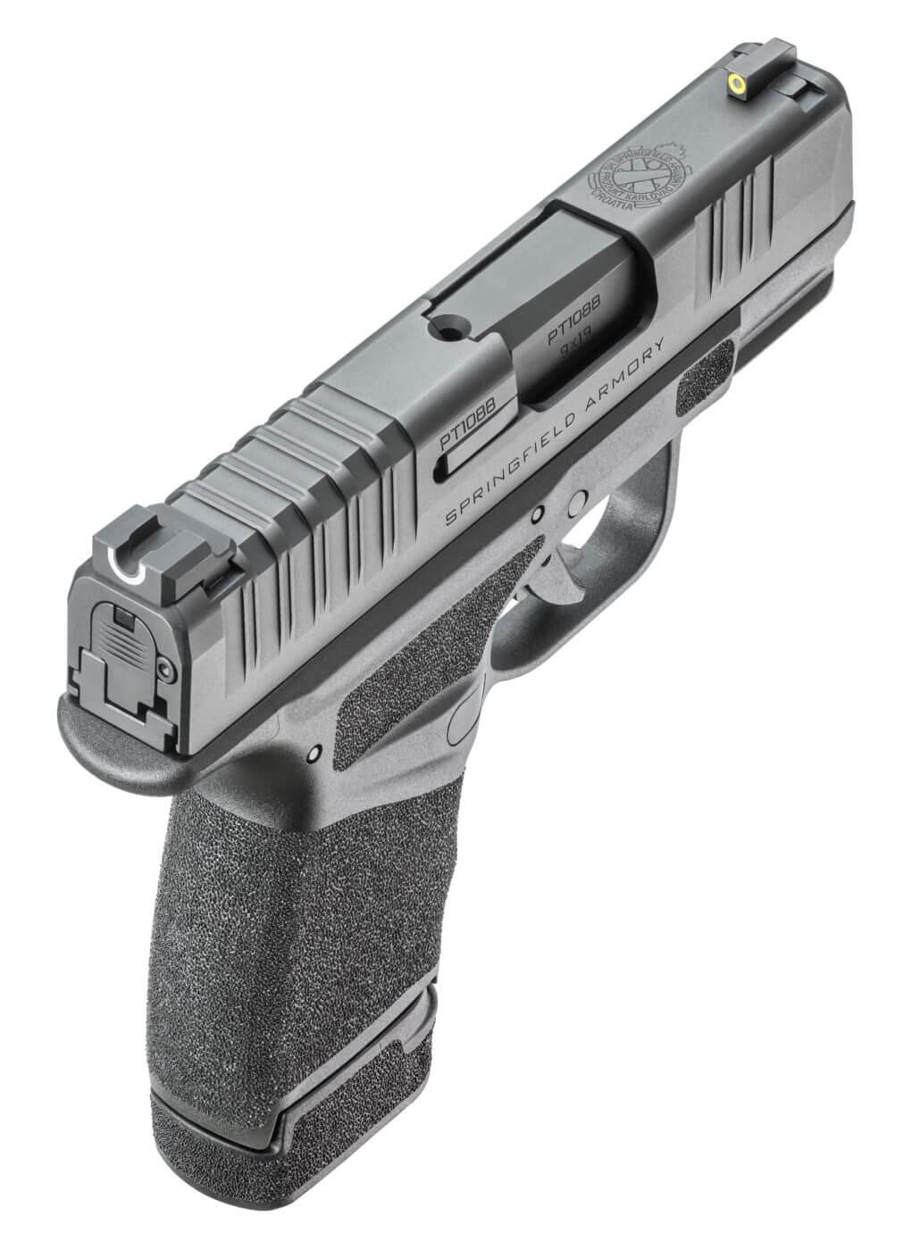 Rear shot of Hellcat handgun