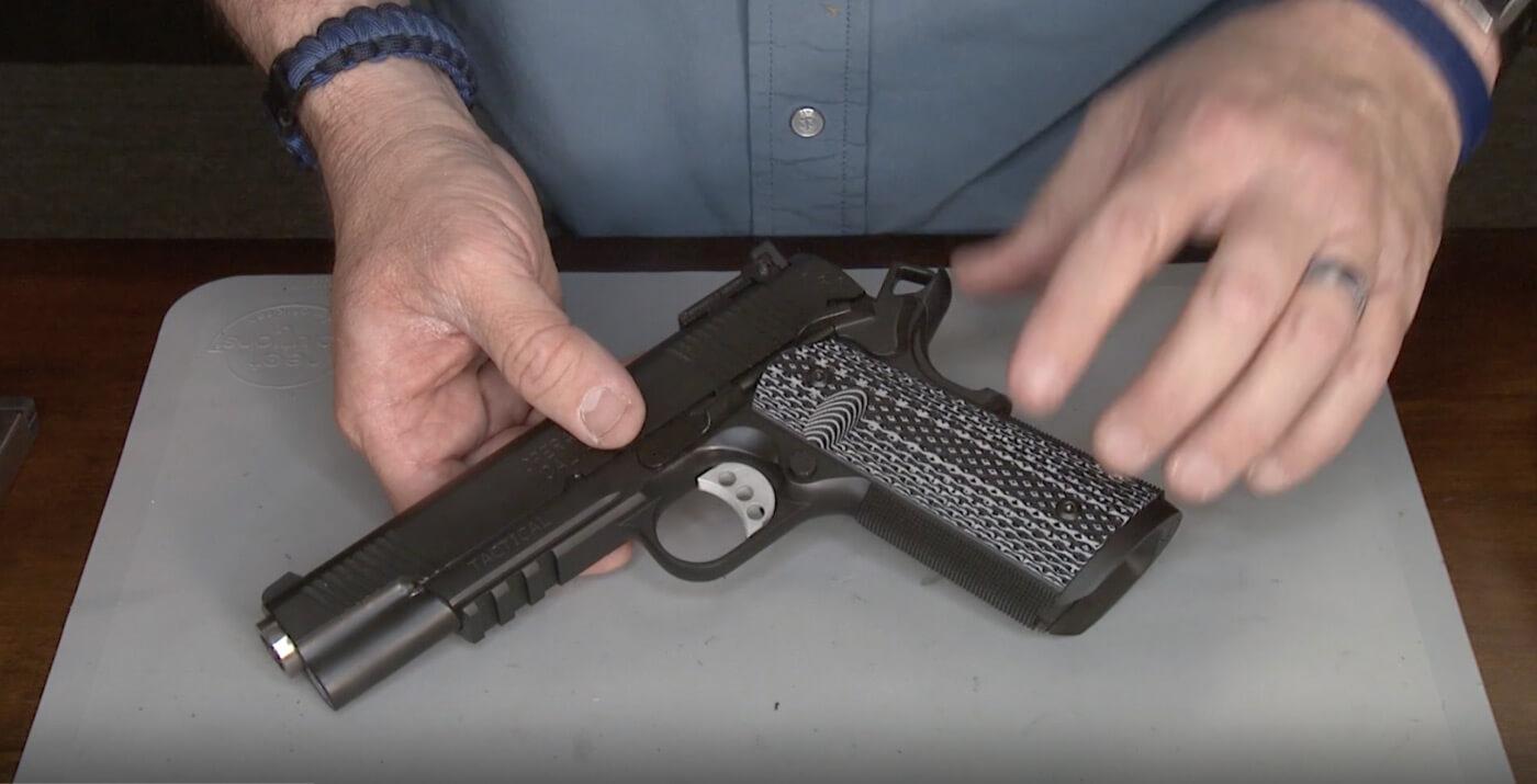 Handling the Springfield TRP Operator pistol