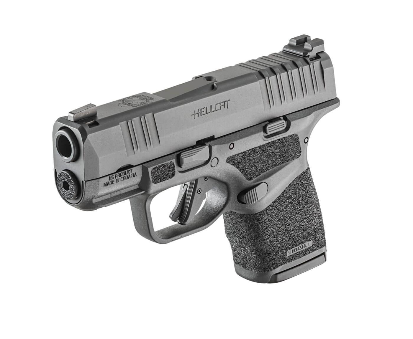 Backup gun, the Springfield Hellcat pistol