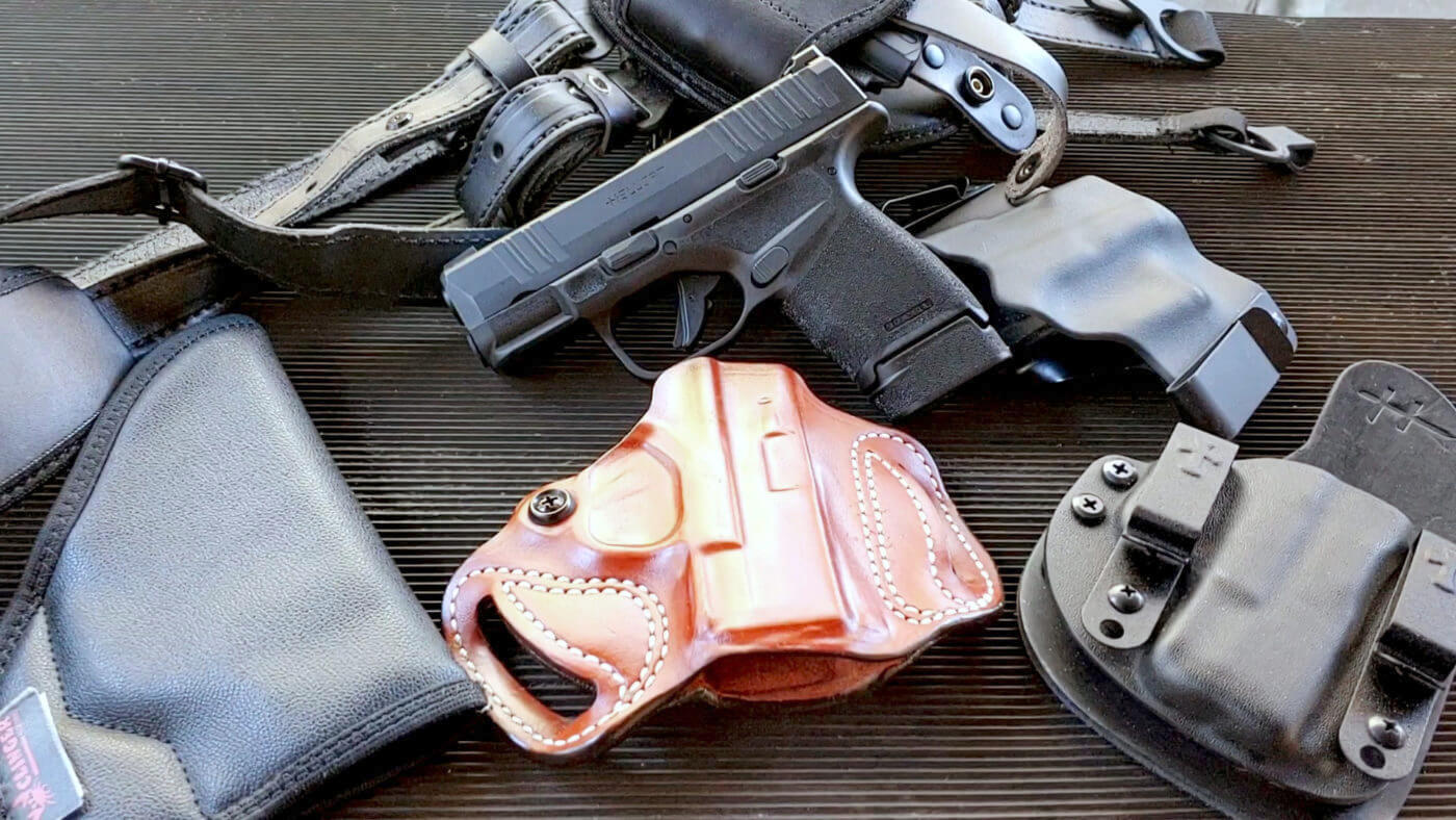 A range of holster options for your Hellcat