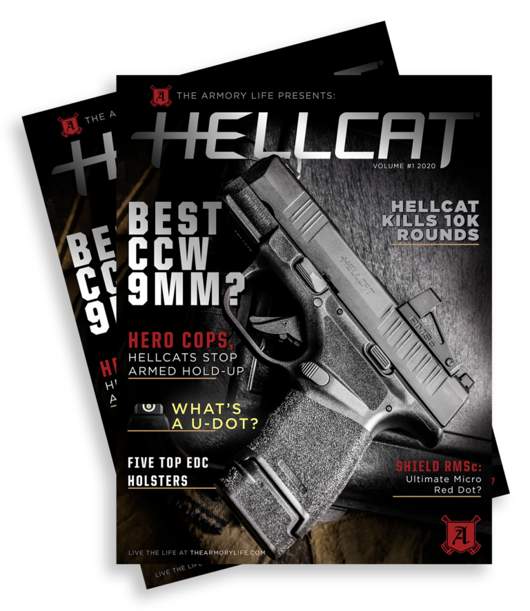 Cover for The Armory Life Digital Magazine Volume 1: Hellcat