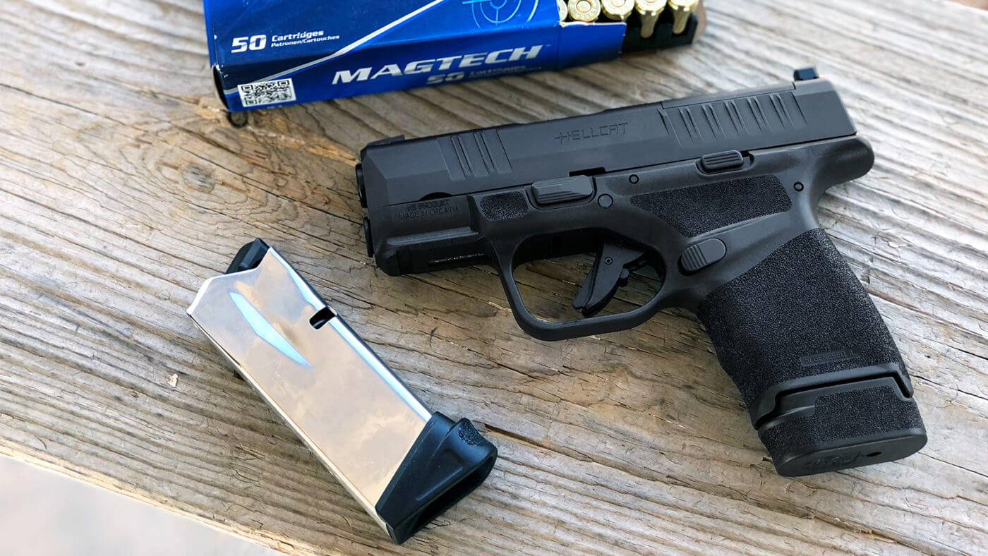 The best micro 9mm pistol: the Springfield Armory Hellcat