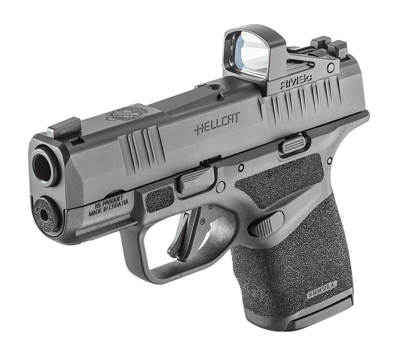 Forward angle of the Springfield Hellcat 9mm