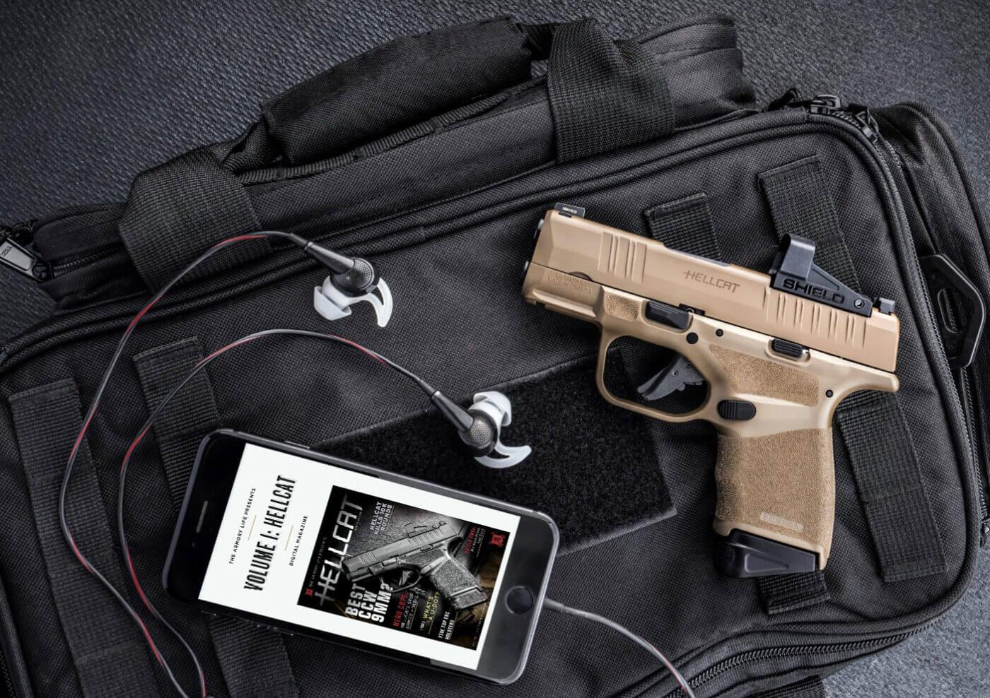 Hellcat OSP FDE pistol as a CCW gun