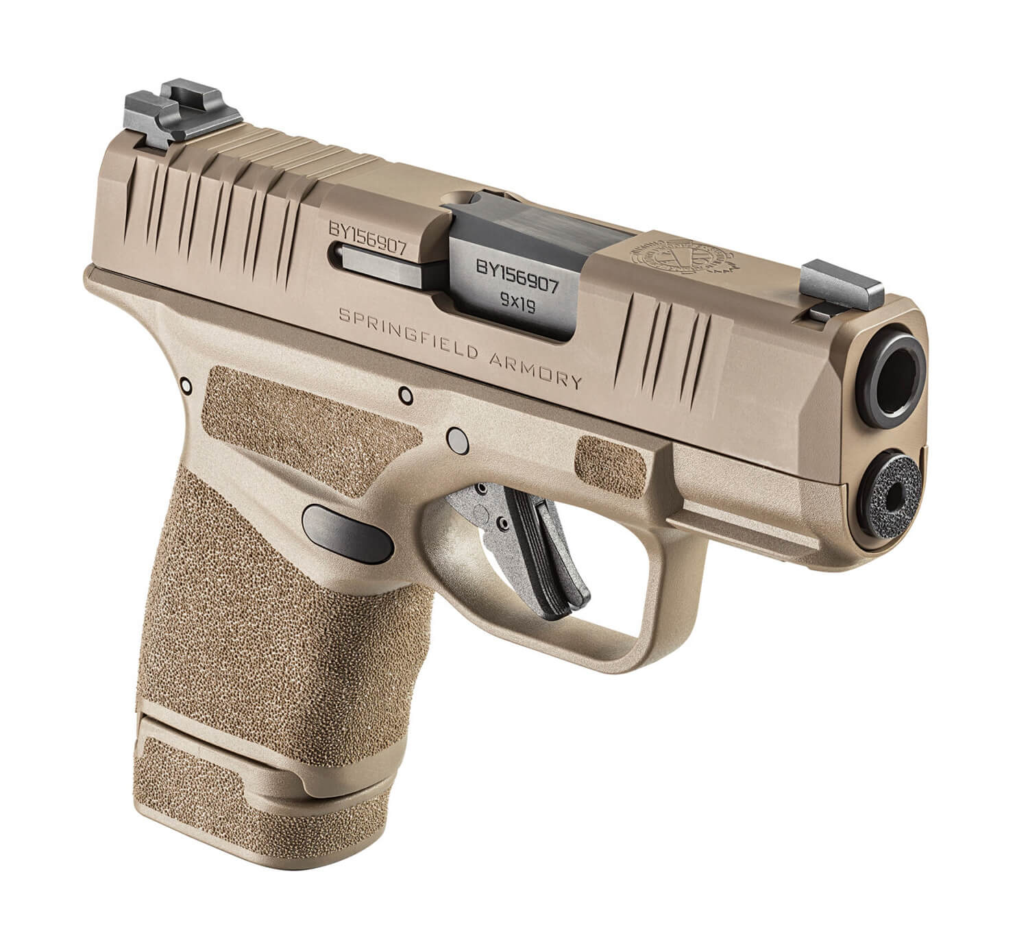 Standard Hellcat in the new FDE color