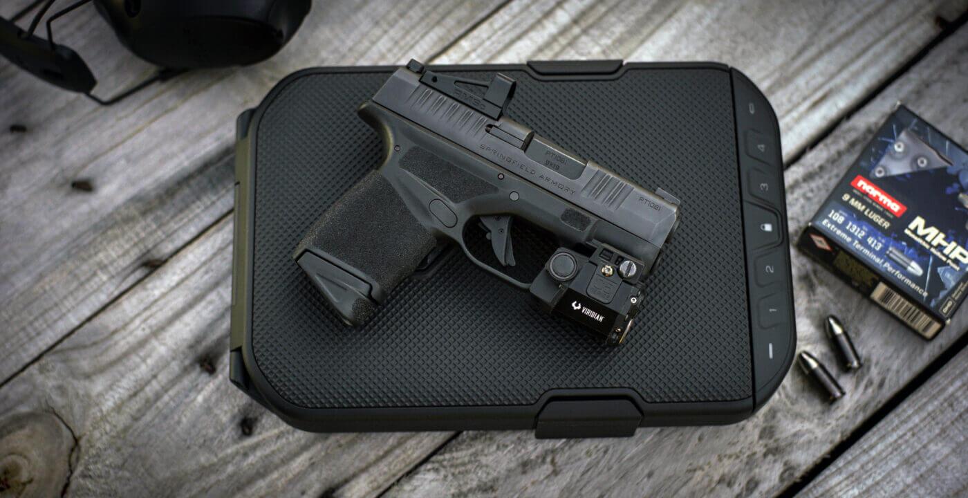 Springfield Armory Hellcat OSP pistol