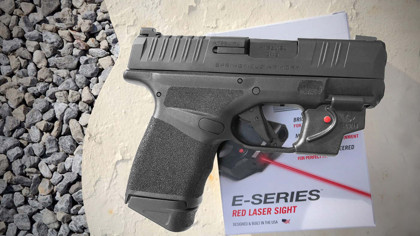 Author installs the E-Series laser on his Hellcat handgun