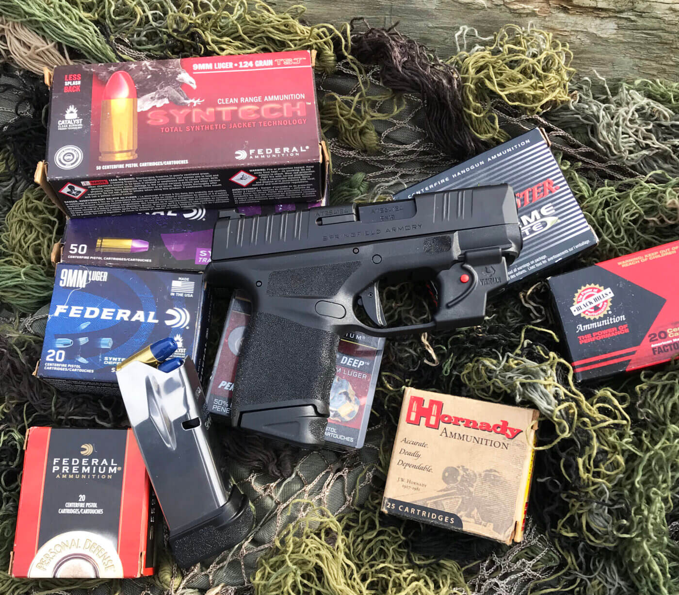 Author tested the Viridian laser unit with a variety of ammunition
