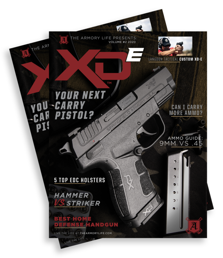 Cover for The Armory Life Digital Magazine Volume 2: XD-E