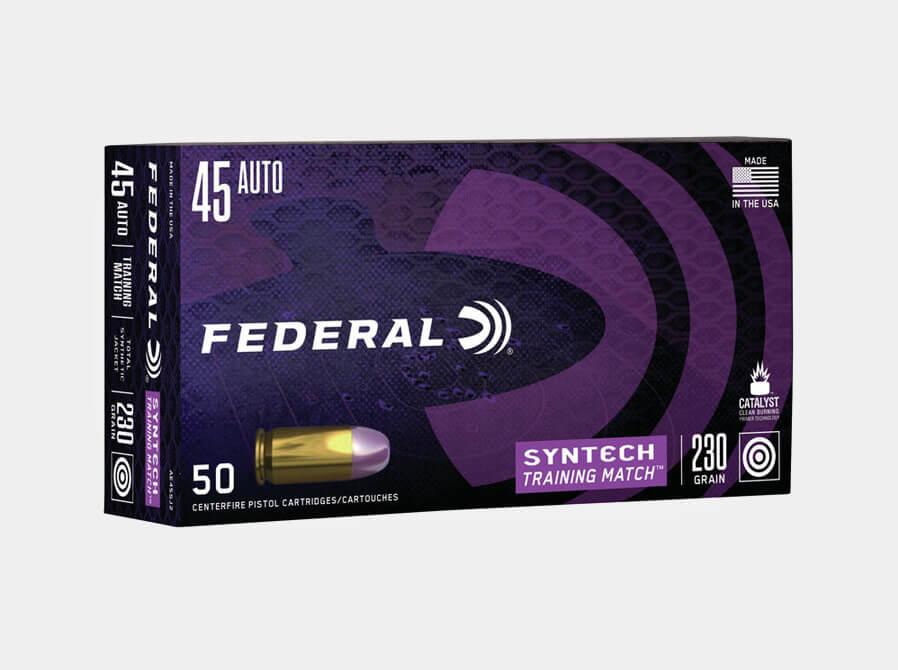 Federal Syntech .45 Auto