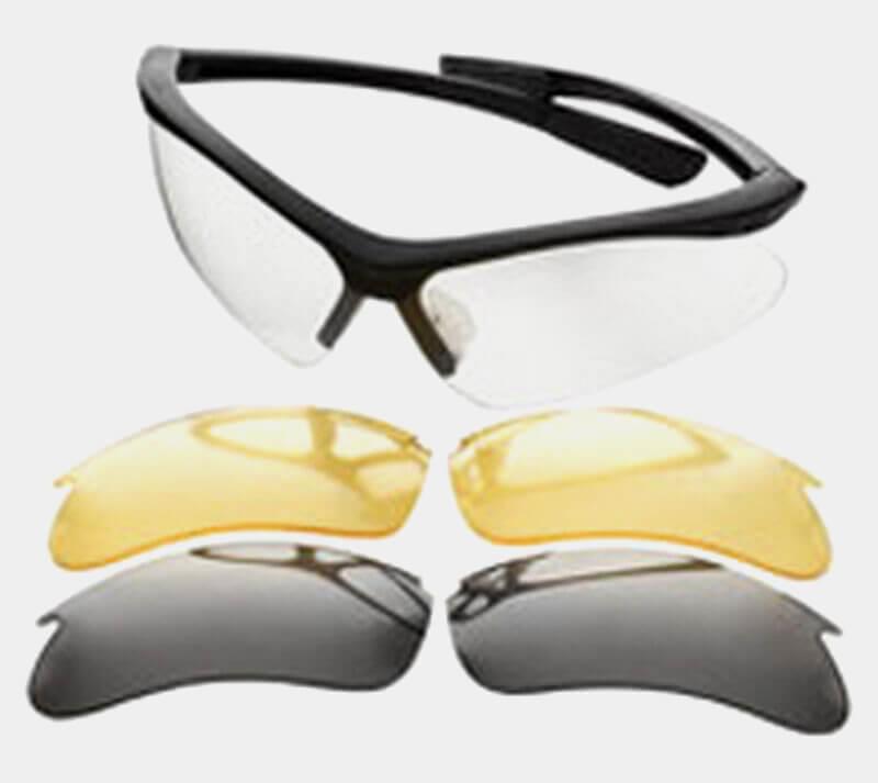 Champion Range and Target Interchangeable Lens Set Ballistic Shooting Glasses