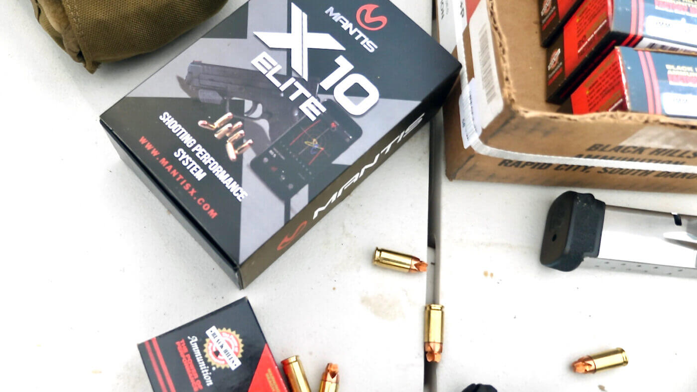 Testing the HoneyBadger ammo with Mantis X10