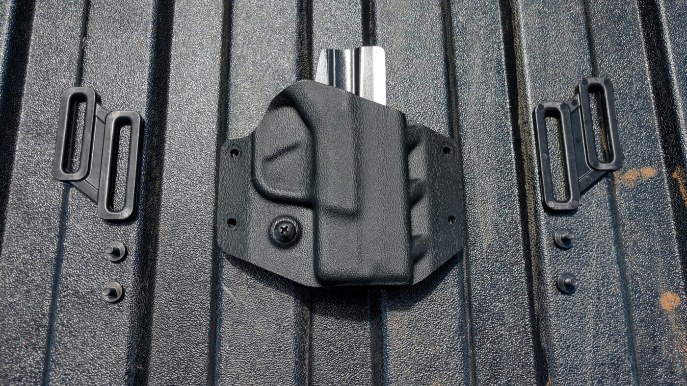 Parts of Crucial Concealment Covert OWB Holster