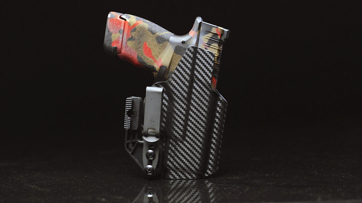 Beauty shot of the Oath Holster