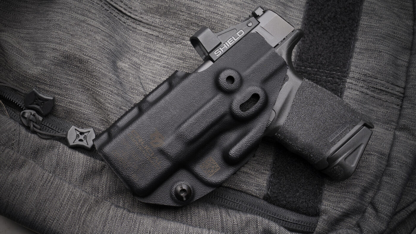 Holster for Hellcat OSP with a Shield RMSc optic