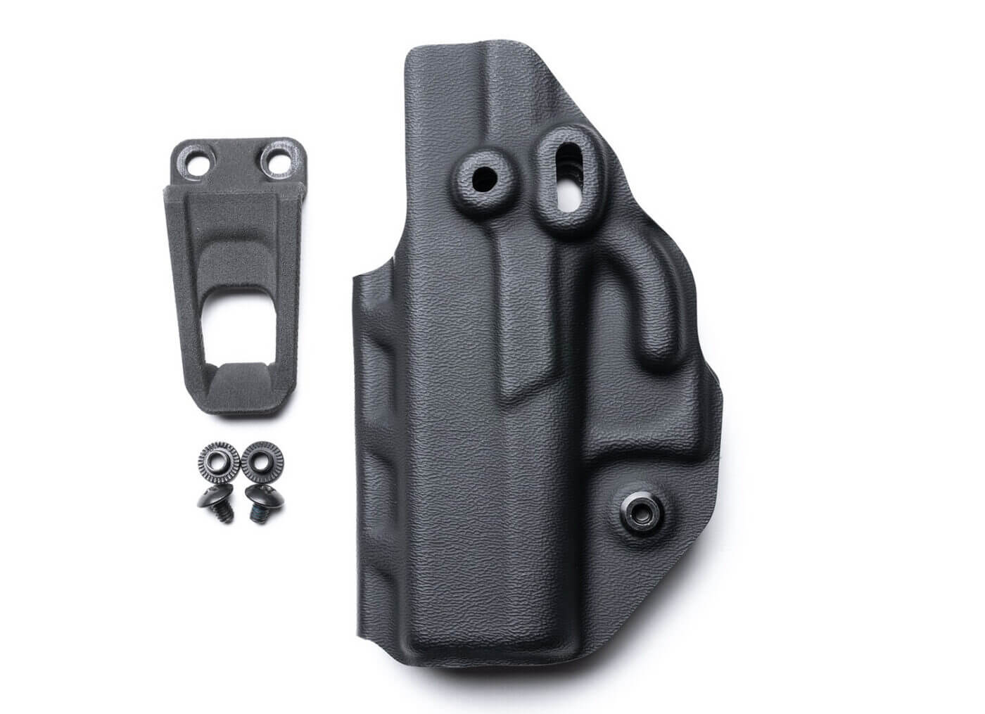 IWB rig for a Springfield Hellcat OSP fitted with a red dot sight