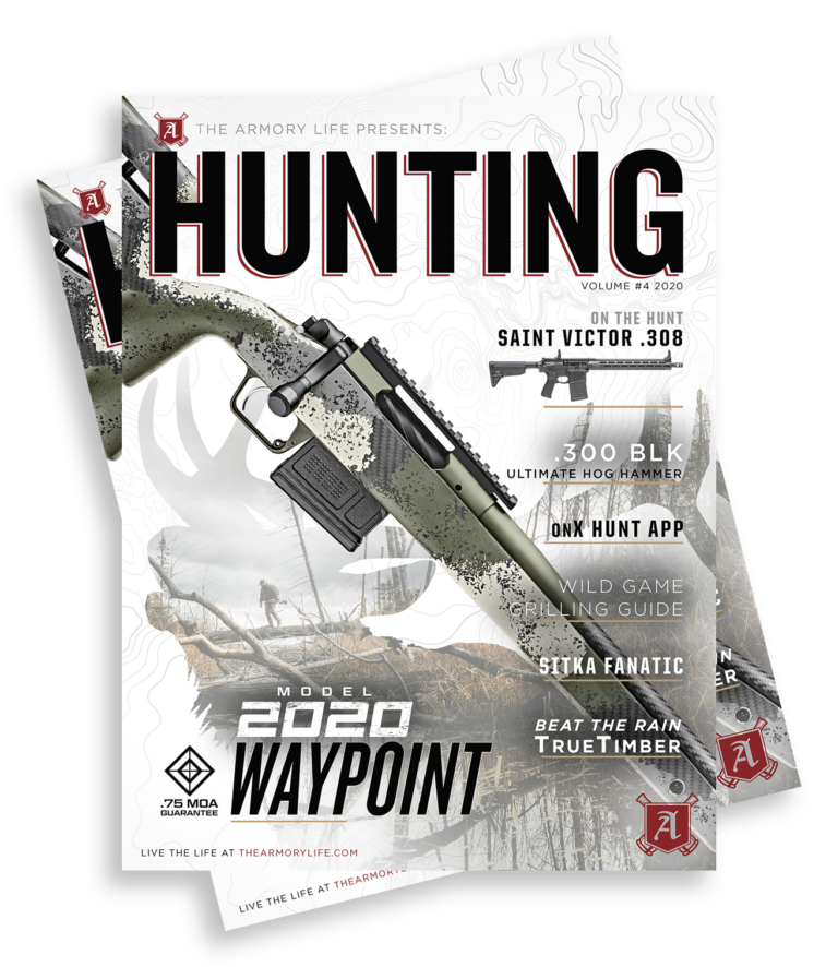 Cover for The Armory Life Digital Magazine Volume 4: Hunting