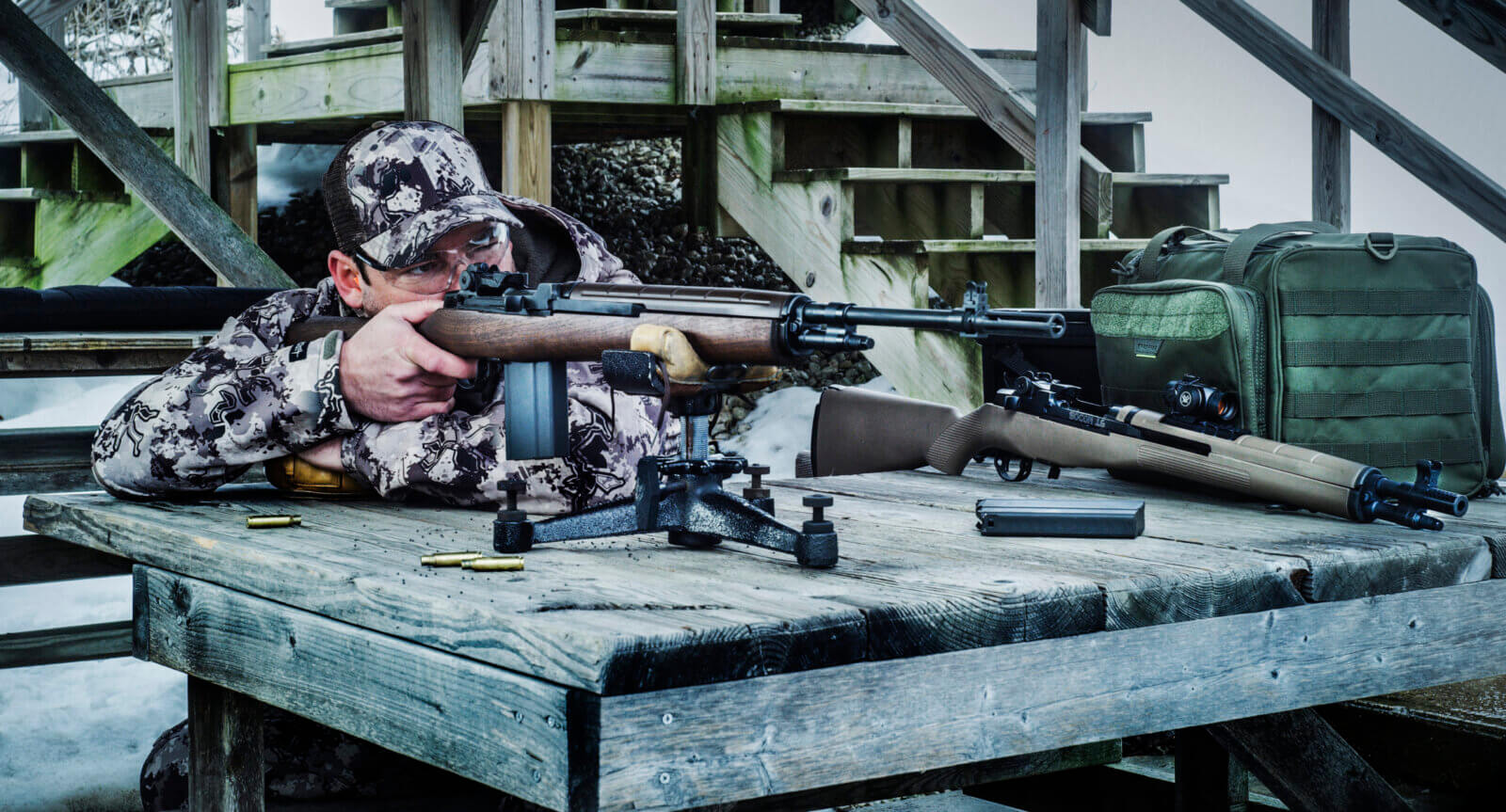 Bench testing the 7.62 round