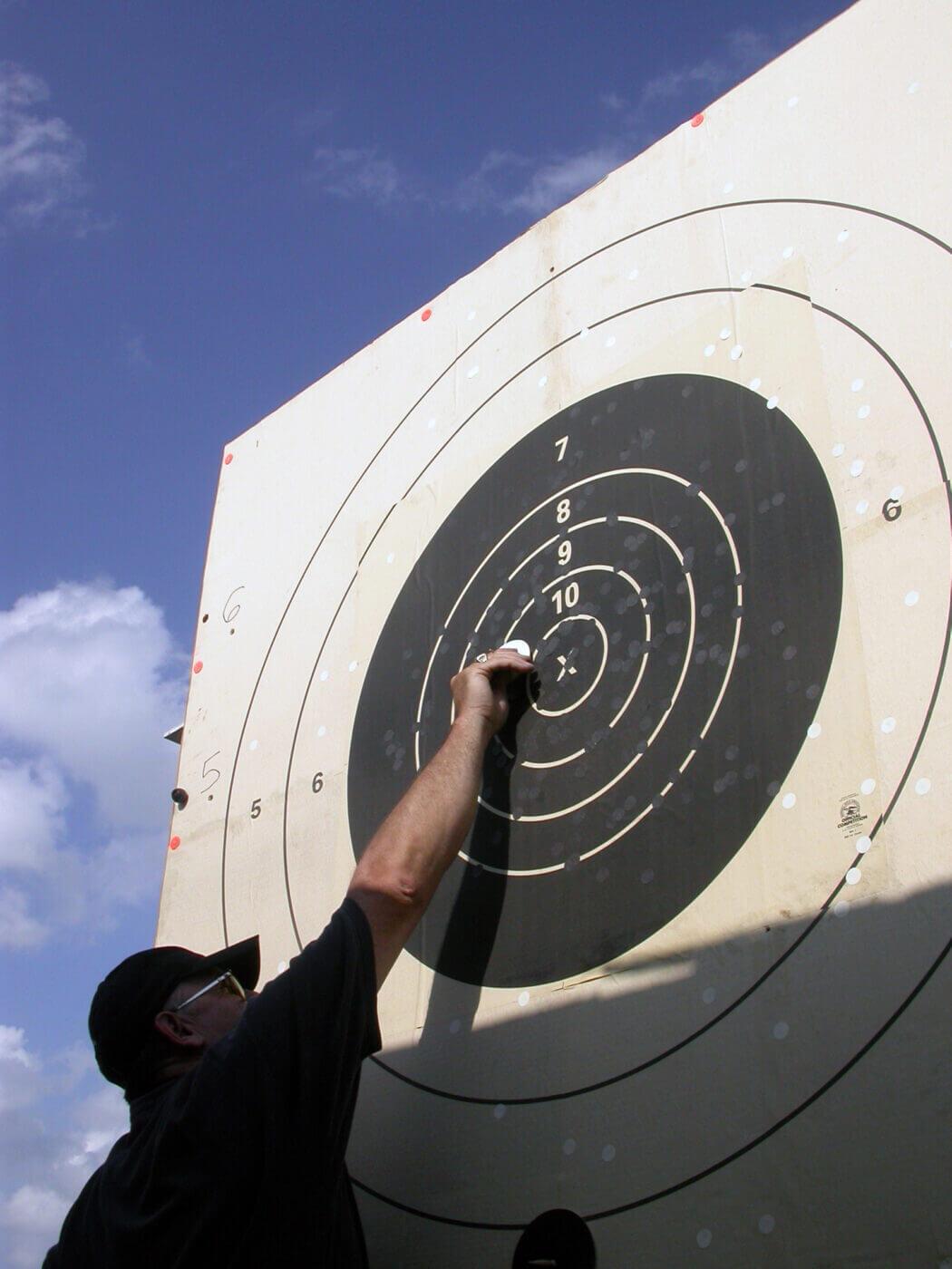 Range target practice with 7.62 NATO