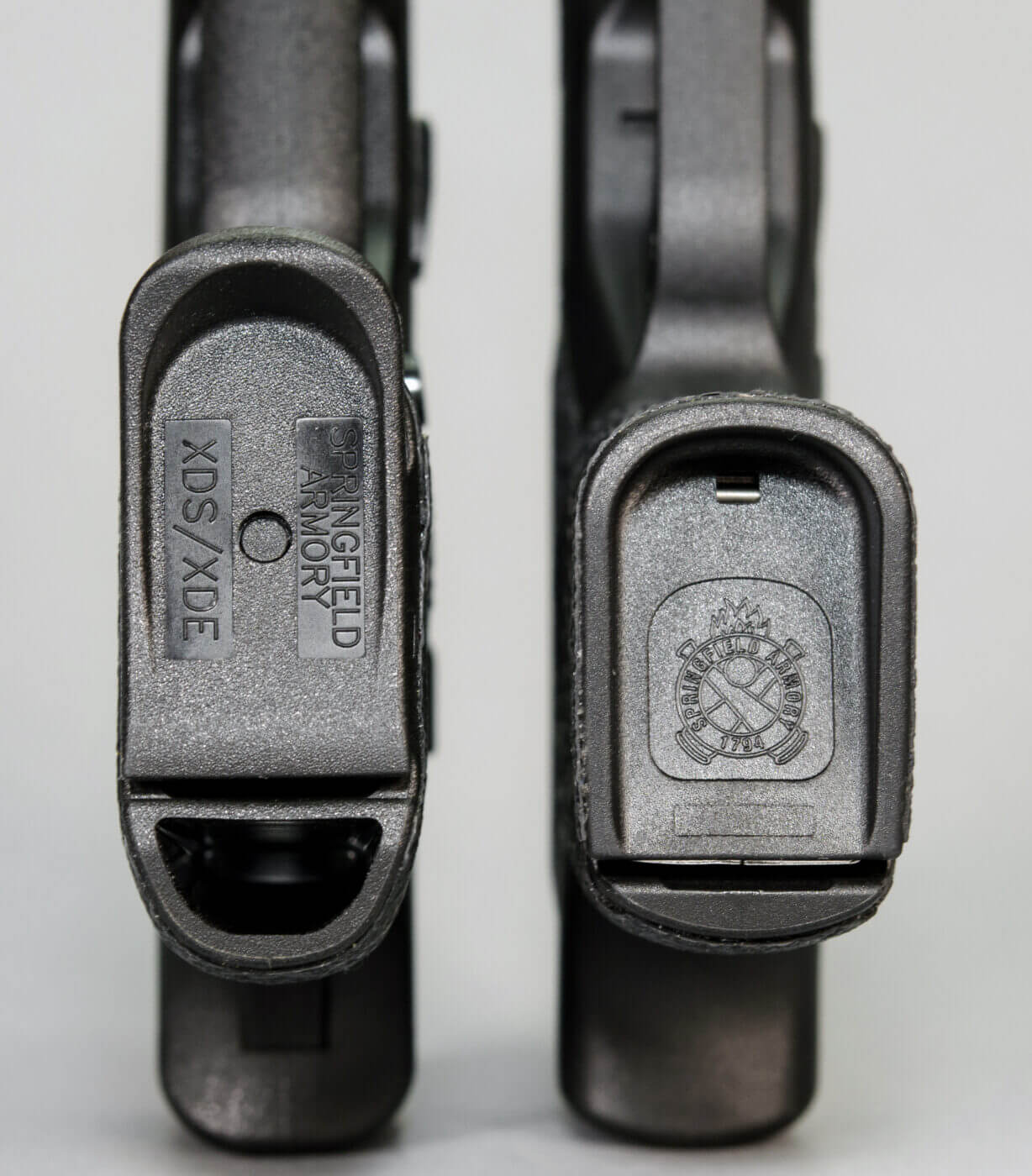 Different magazines for two handguns