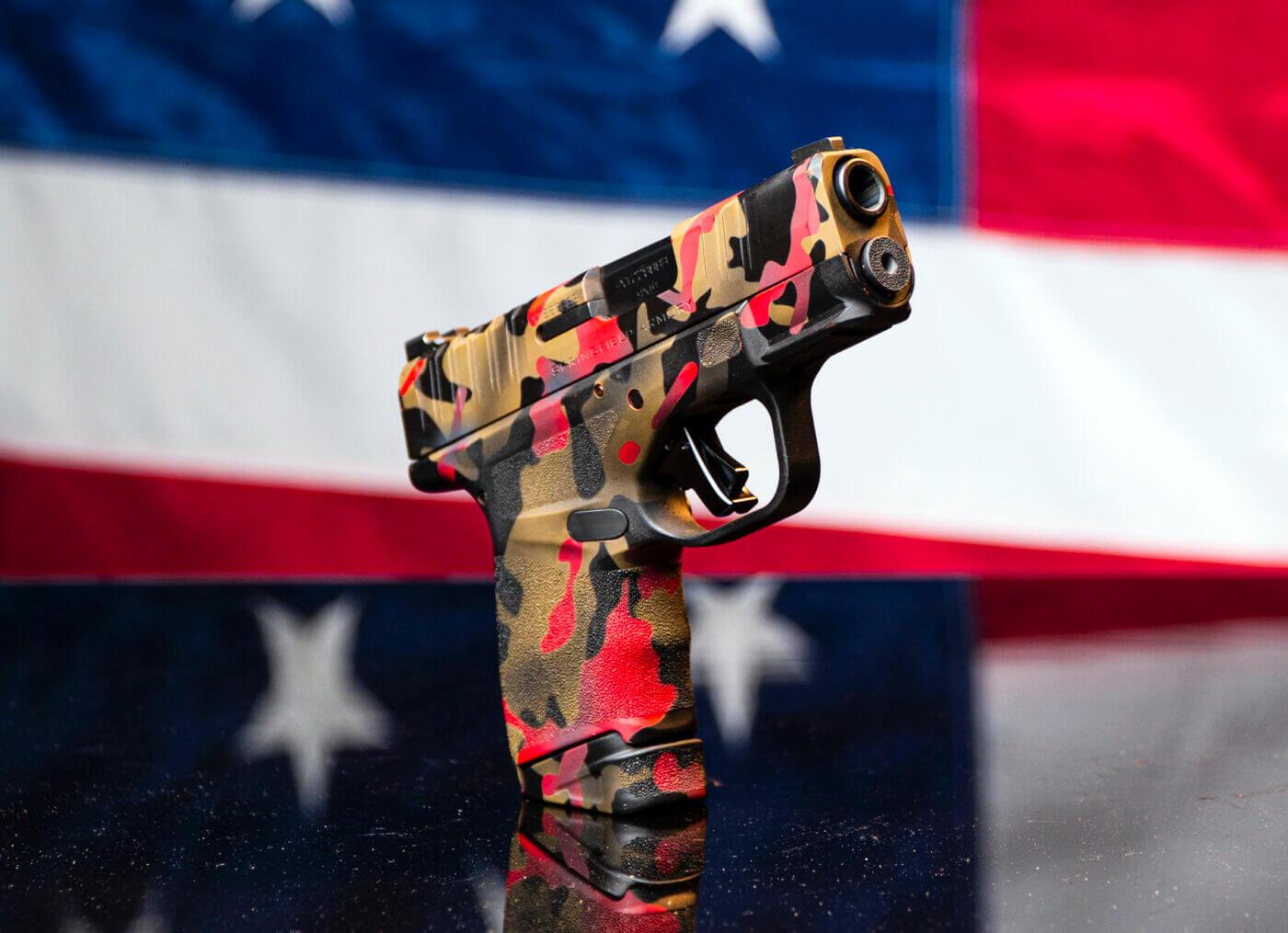 Fully custom Springfield Hellcat pistol