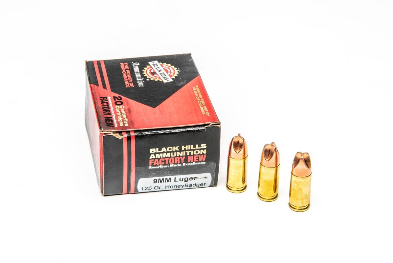 Black Hills Honey Badger ammunition anatomy
