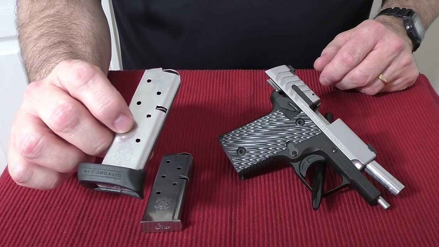 Magazines included with the 911 pistol
