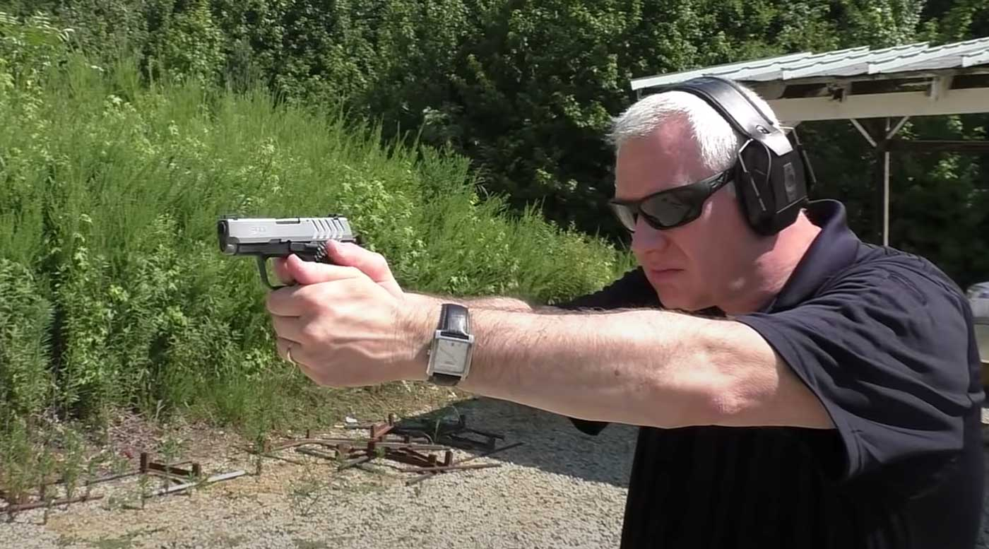 Test shooting the Springfield 911 .380 ACP handgun