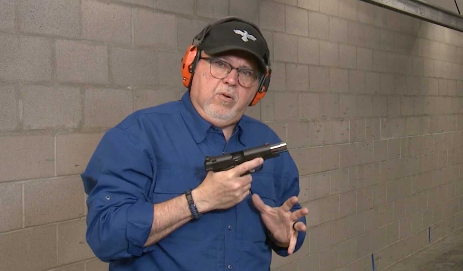 Shooting ammo to find the best defensive ammo for a compact 1911