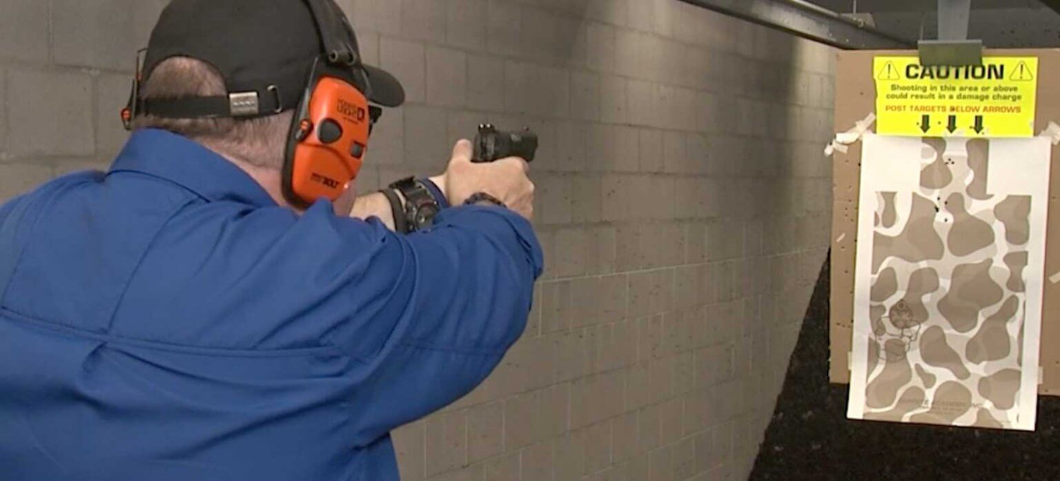 Testing the Federal HST ammo in a compact 1911