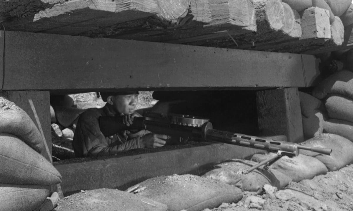 Porkchop Hill features a Lewis Gun standing in for a DP-27