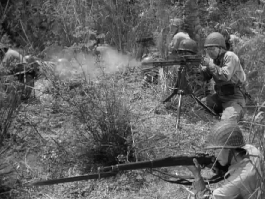 Lewis Gun in Guadalcanal Diary