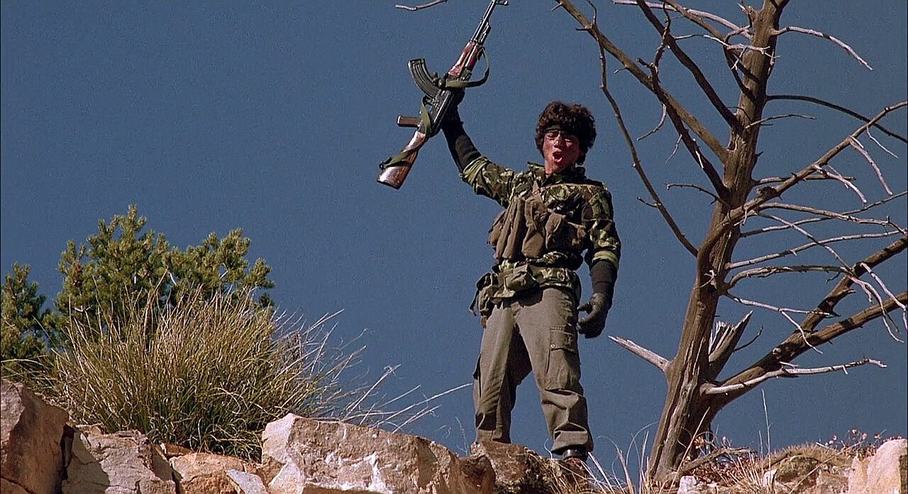 An Egyptian MISR standing in as an AK-47 in Red Dawn